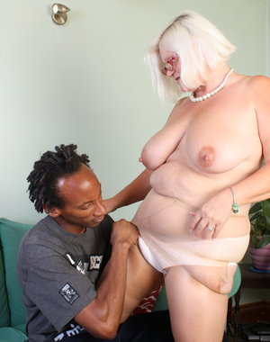 British BBW playing around with a horny black dude
