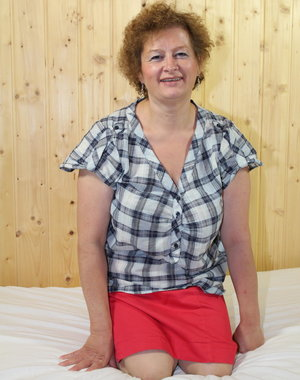 German Suzie is one naughty mature lady