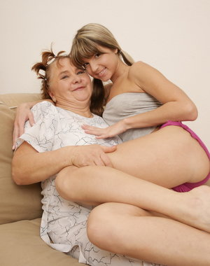 These naughty old and young lesbians make it big