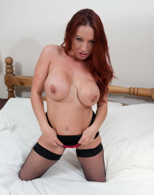 Hot big breasted MILF having a fucking good time