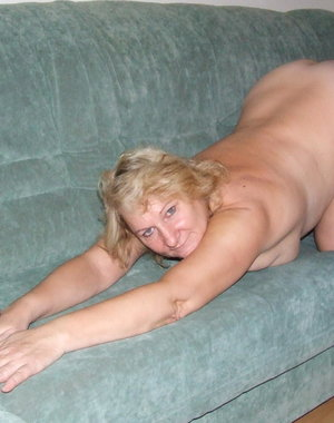 This housewife loves to get naked and naughty