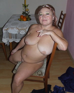 Naughty housewife gets naked and playfull