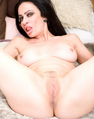 Cougar Avalon playing with her pussy