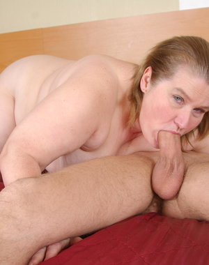 Big Amelia loves having sex with a younger dude