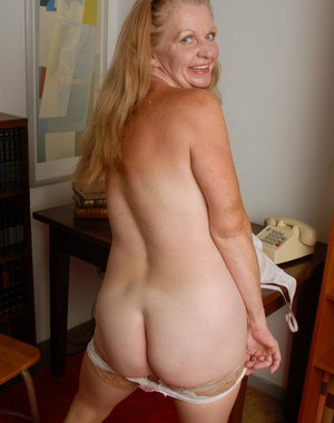 Naughty American housewife going naked