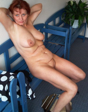 Kinky housewife getting naked