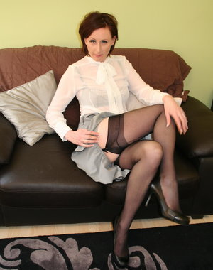 This kinky housewife gets naughty and deviant