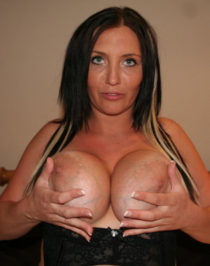 Big breasted mature MILF getting nasty
