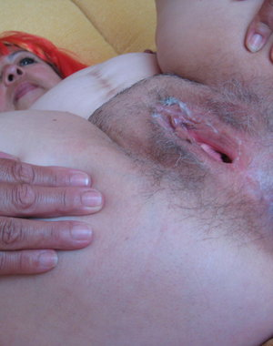 This horny european mature slut loves to play