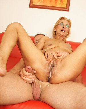 Mama is in need of a hot and warm creampie