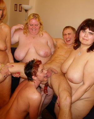 Horny mature party mamas love to get their hands on a cock