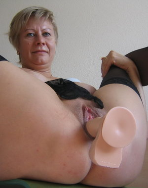 This mama loves to play with her rubber little friend