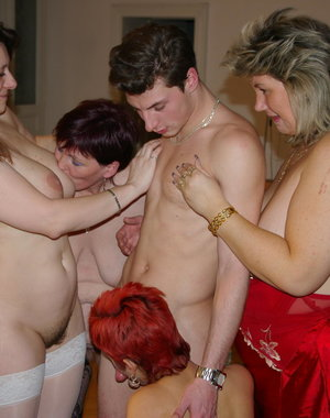 Multiple mature women wanting one cock