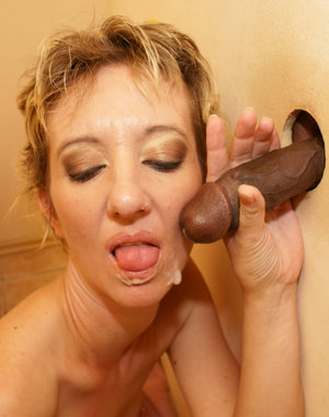 This kinky housewife gets a black surprise to munch on