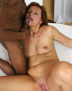 Black dude doing one hot mature housewife