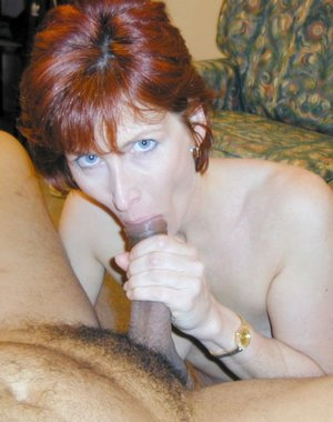 This horny housewife is hungry for a black cock