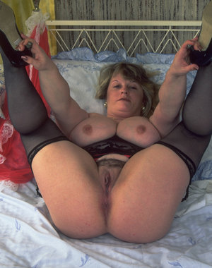 This big titted mature slut loves to show you her stuff