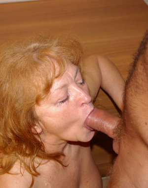 We all love mature, especially when they are nasty like this one