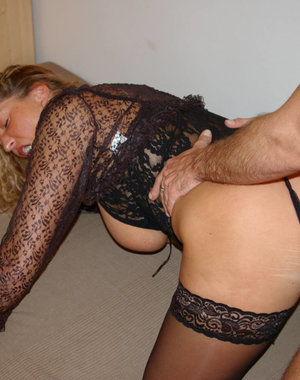 Horny big titted housewife getting fucked