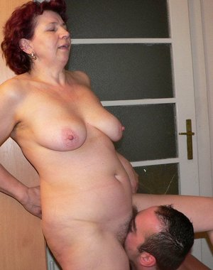 This mature whore sure loves to get fucked hard