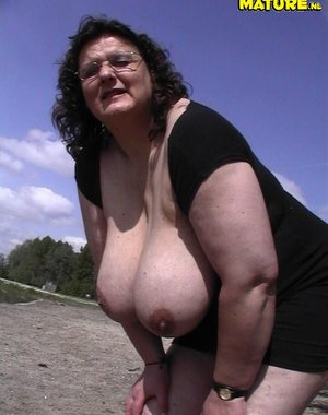 biggest natural mature tits