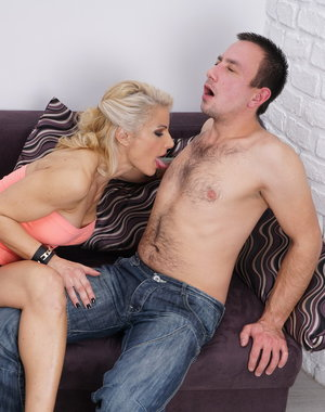 Hot MILF fucking with her horny lover