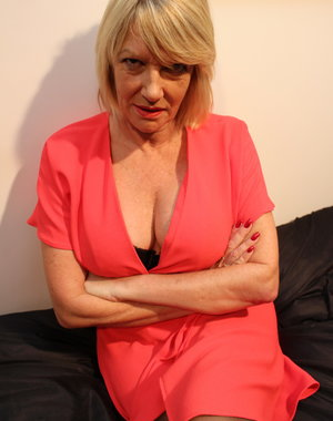 British housewife Amy doing the guy next door
