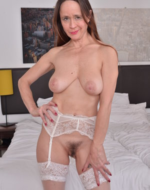 British hairy housewife getting wild