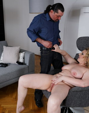 This horny housewife loves to fuck with her lover
