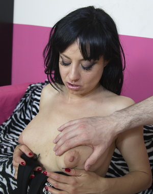Naughty mom fooling around in POV style