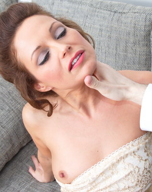 Steamy hot hairy mom getting it in POV style