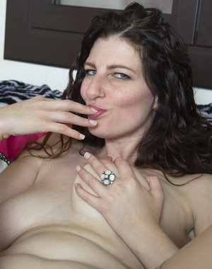 Naughty Mom playing with herself