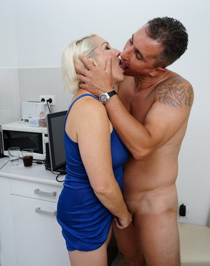 Naughty housewife getting it hard from her lover