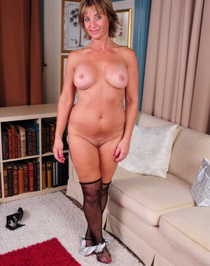 Naughty American housewife gets dirty